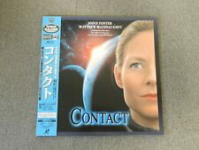 Contact - Laser Disc - OBI JAPAN LD 2disc