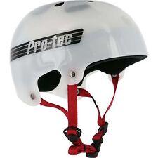 Protec Bucky Lasek Skateboard Skate Park Helmet TRANS WHITE XS 51-52 cm