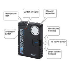 Wireless Micro Uhf Audio Voice Bug Surveillance Device Transmitter Spy Listening