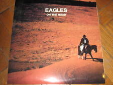 THE EAGLES ON THE ROAD  2 LP  Chicago 78 + Randy Meisner Dallas 83 + Don Henley