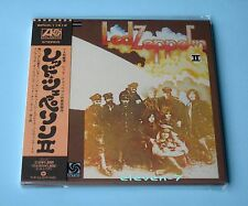 LED ZEPPELIN II Japan mini LP CD  brand new & still sealed