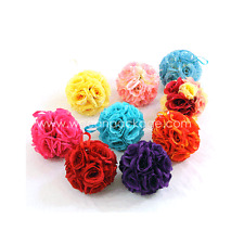 NEW Silk Rose Kissing Ball Pomanders Wedding Decoration Centerpiece Flower