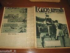 IL CALCIO ILLUSTRATO 1949/16=INTER BOLOGNA=GENOA FIORENTINA=BARI NOVARA=