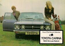 Toyota Carina 1600 Saloon 1973-74 UK Market Foldout Sales Brochure