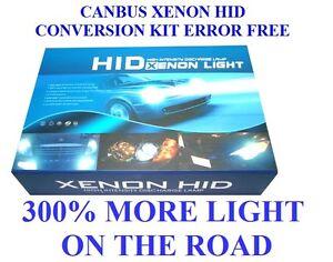CANBUS XENON HID CONVERSION KIT ERROR FREE H7 8000K 55W  Uk Seller