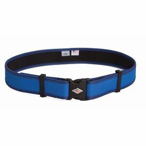 "Neet Diamond Line Large Blue 2"" Extra Firm Web Quiver Belt"