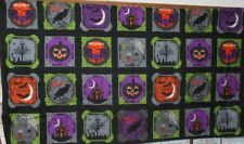 "1 Windham Raven Halloween 23"" x 44"" Quilt/Wallhanging Panel Fabric"