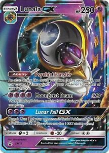 1x Lunala GX - SM17 - Legends of Alola Tin - SM Black Star Promo SM Black Star P