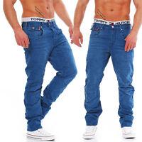 JACK & JONES - STAN OSAKA - DRESS BLUE - Anti Fit - Men / Herren Jeans Hose