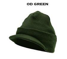 Acrylic JEEP CAP Beanie Knit Hat Visor Skull Cap US Marine Corps USMC Navy Army