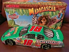 BOBBY LABONTE #18 2005 MADAGASCAR INTERSTATE 1/24 ACTION DIECAST CAR