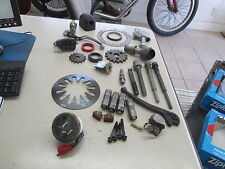 Used Harley Davidson & Japanese Perch Levers Gauge Etc Motorcycle Parts Lot