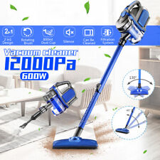 2in1 Wired Vacuum Handheld Stick Bagless Cleaner Carpet Dust Collector 12000Pa
