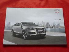 Audi q7 3.0 TDI 4.2 TDI 3.6 FSI 4.2 fsi quattro folleto de 2009