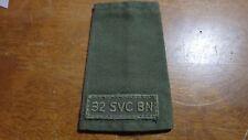 WW11 32 Service Battalion | Reserve Unit | Canadian Army  Epaulette BX M #7