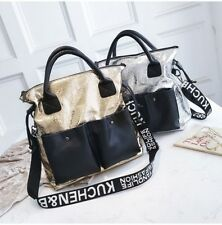 Handbag Women Shoulder Bag 3 Colors Fashion Large Capacity Double Pocket Casual