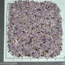 AMETHYST LILAC, 3-5mm, tumbled 1/2 lb bulk xxmini+ stones quartz lavender white