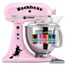Backhexe Aufkleber Kitchenaid kitchen aid ~ Küche Backen Küchenmaschine Sticker