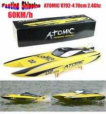 Volantex V792-4 70cm ATOMIC 2.4ghz 1800kv Brushless RTR 60 Km/h RC Racing Boata