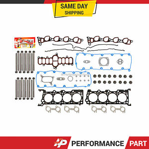 Head Gasket Bolts Set for 07/21/97-99 Ford E, F Series Econoline 5.4 VIN L,M,Z