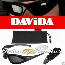 Occhiali da moto nero adulti Davida
