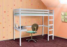 Hochbett Spielbett - PINO -  Kinderbett Jugendbett Etagenbett Bett Schreibtisch