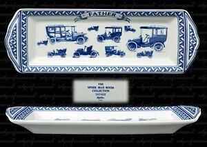 SPODE BLUE ROOM FATHER  MINT CHANGE PEN TRAY FATHERS DAY