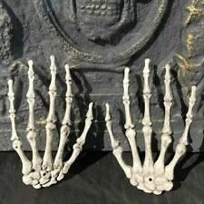 Halloween Skull Skeleton Human Hands Bone Zombie Party Terror Scary Props Decor