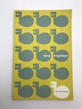 Vintage Sing Together A Girl Scout Songbook 1957 Edition