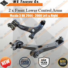 2 x Front Lower Control Arm For Mazda 3 BK 2004 - 2008 Left & Right