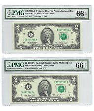 2003A $2 PHILADELPHIA FRN PMG GEM UNCIRCULATED 66 EPQ BANKNOTE