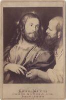 Foto Su di Carta Albume D'Uovo Cruscotto Da Tiziano Di Dopo Incisione Vintage Ca