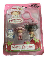 Strawberry Shortcake CHARM DANGLERS Clip Ons NEW Sealed 2003