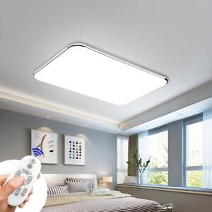 12W-64W LED Ultraslim Dimmbar Deckenleuchte Schlafzimmer Deckenlampe Wohnzimmer