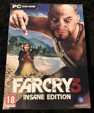 Farcry 3 - Insane Edition - PC - Complete In Box - Read Description