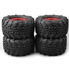 4X RC 1:8 Bigfoot Monster Truck Tire Wheel Rim For TRAXXAS Summit HSP Racing3012