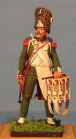 Napoleonic Wars — Italian drummer Foot Guard — 60mm High quality Metal Figure