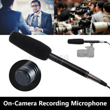 Professional On-Camera Recording Microphone Interview Video Audio Mic