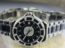 WAH1219.BA0859 LADIES TAG HEUER F1 BLACK CERAMIC/SS & DIAMOND WATCH (158)