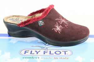 Fly Flot Ladies Slippers Mules Slippers Red New