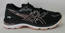 Asics Womens Gel Nimbus 20 T850N Black/Frosted Rose Size 8