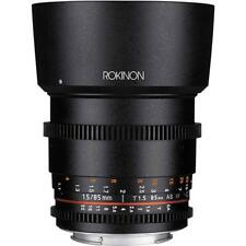 Rokinon 85mm T1.5 Cine DS Aspherical Lens for Sony E Mount #DS85M-NEX