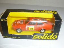 SOLIDO COUPE OPEL KADETT GTE MONTE-CARLO 1978 NEW ORIGINAL BOX