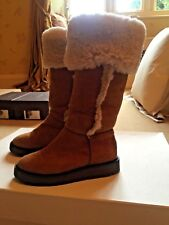 Gucci girls suede boots