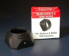 Yashica TLR Rolleiflex Rolleicord Rollei Autocord Bayonet-1 Bay 1 B30 Lens Hood