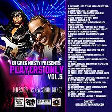 "DJ Greg Nasty - ""Players Only vol. 5"" mixtape"