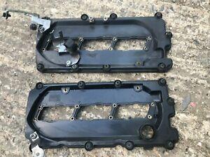 AUDI Q7 VW TOUAREG 3.0 TDI ENGINE ROCKER COVERS DRIVER PASSENGER SIDE 059103470R