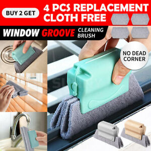 Window Door Track Cleaning Brush Gap Groove Sliding Tools Dust Cleaner Kitchen