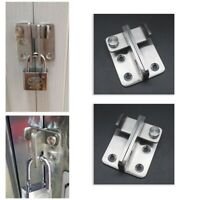 """Hasp and Staple Security Garage Shed  NEW 5-1//2/"""" Heavy Duty Cast Iron 140mm"""