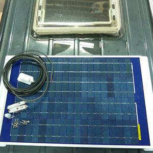 12V 80W Solaranlage Solarpanel Solarmodul Solar Made in Germany wohnmobil boot